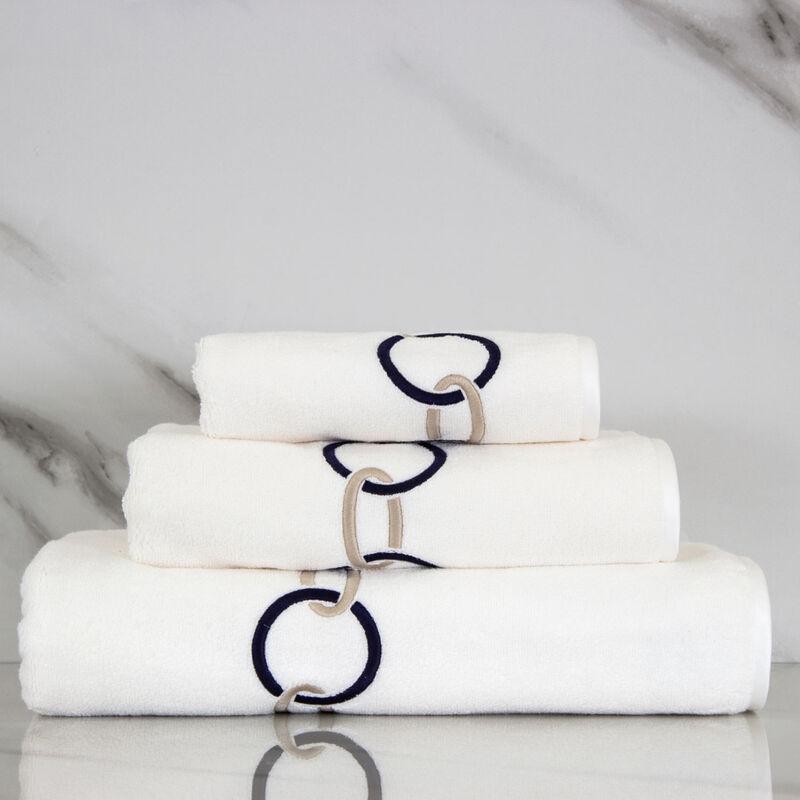 Links Ricamo Asciugamano Ospite