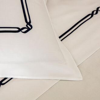 Frame Embroidered Duvet Cover Set