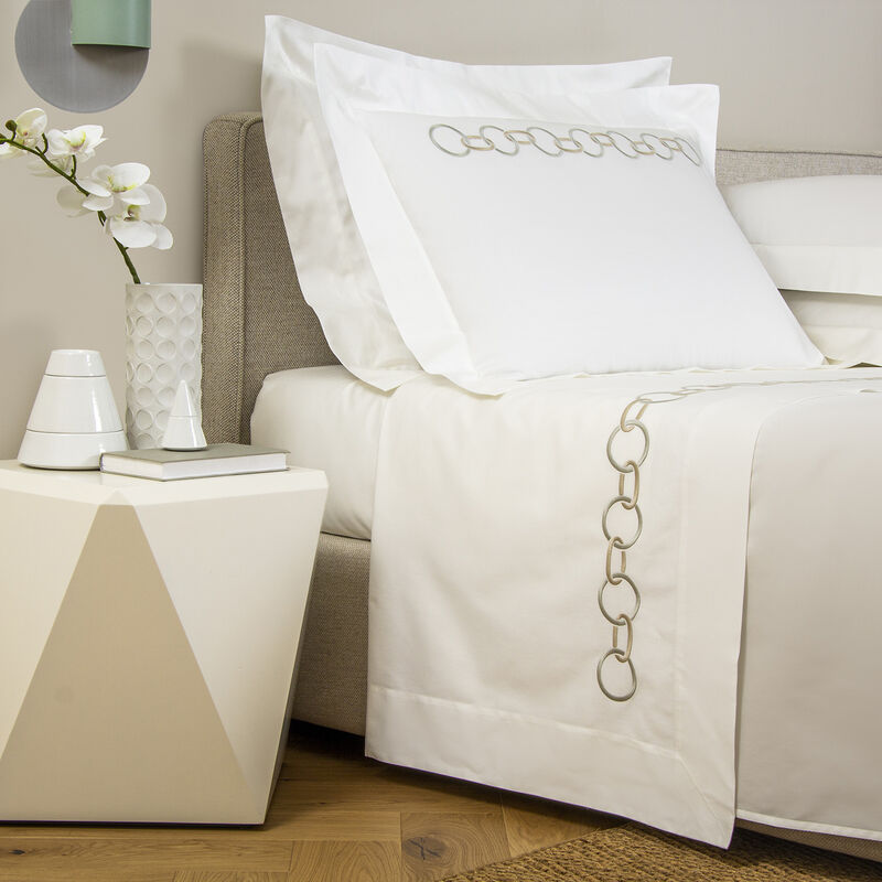 Links Ricamo Completo Letto