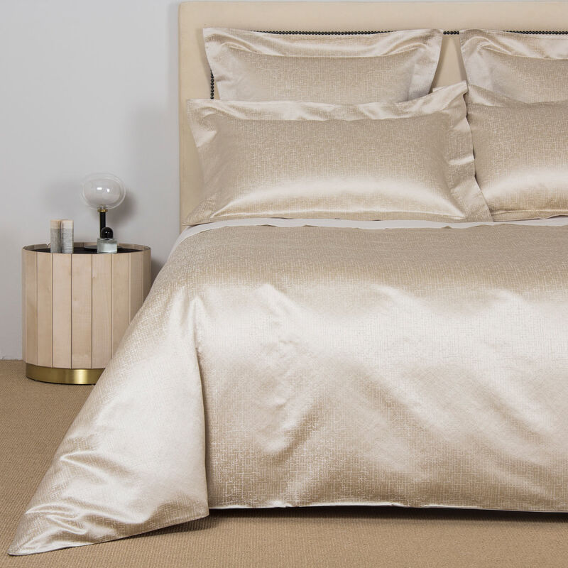 Glowing Weave Duvet Cover Set