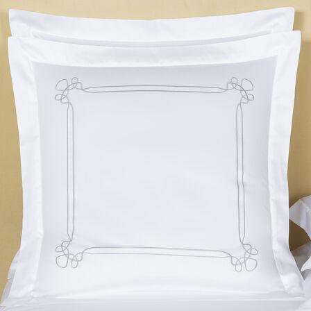 Sirmione Embroidered Quadrat Kissenbezug