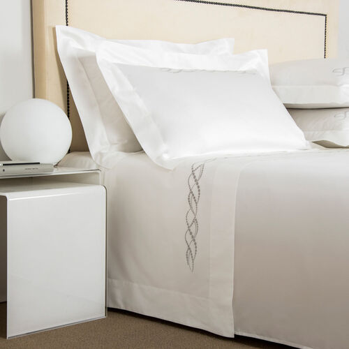 Pearls Embroidered Sheet Set