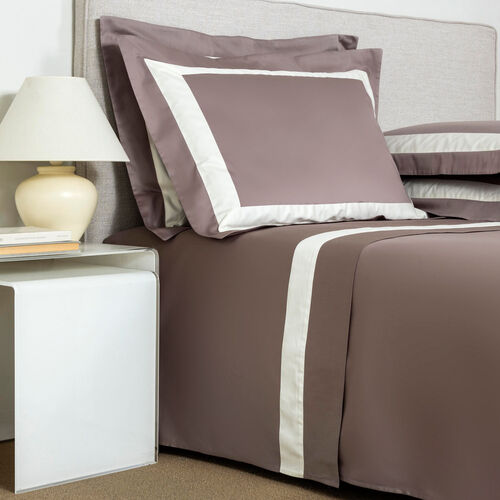 New Horizon Sheet Set Taupe Ivory