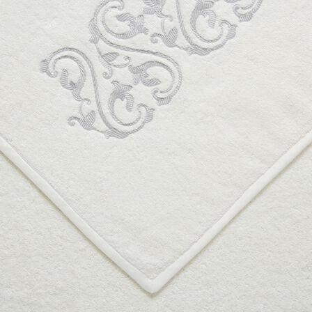 Ornate Medallion Embroidered Bath Sheet