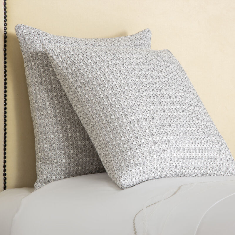 Luminescent Tweeds Decorative Pillow