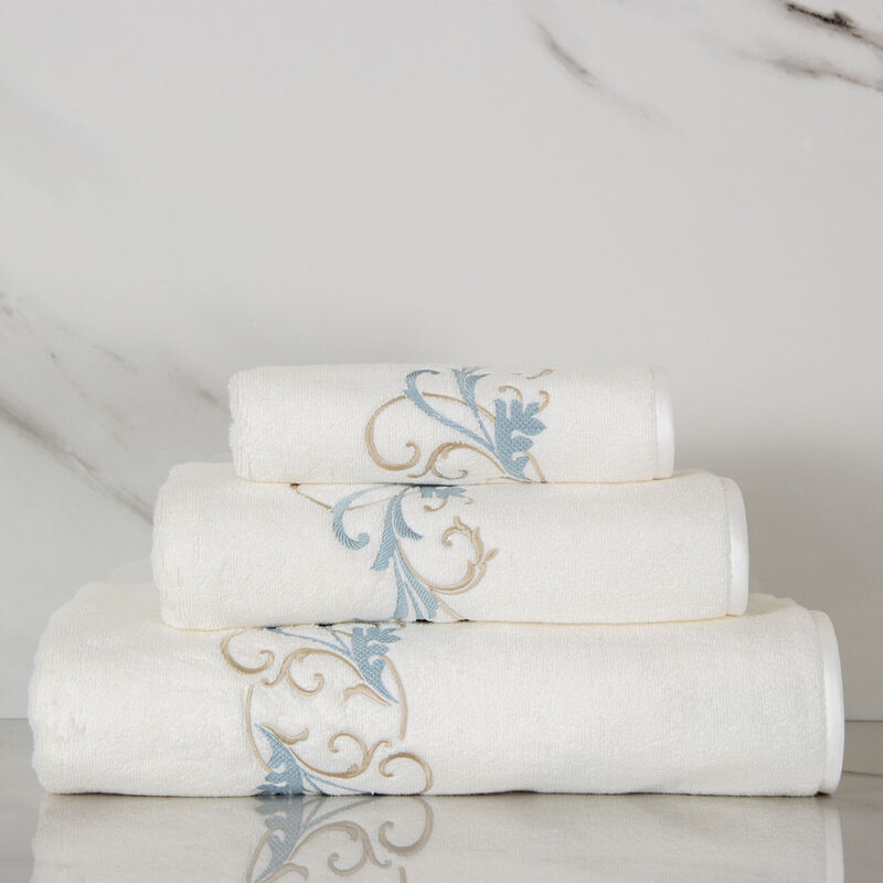 Tracery Embroidered Hand Towel