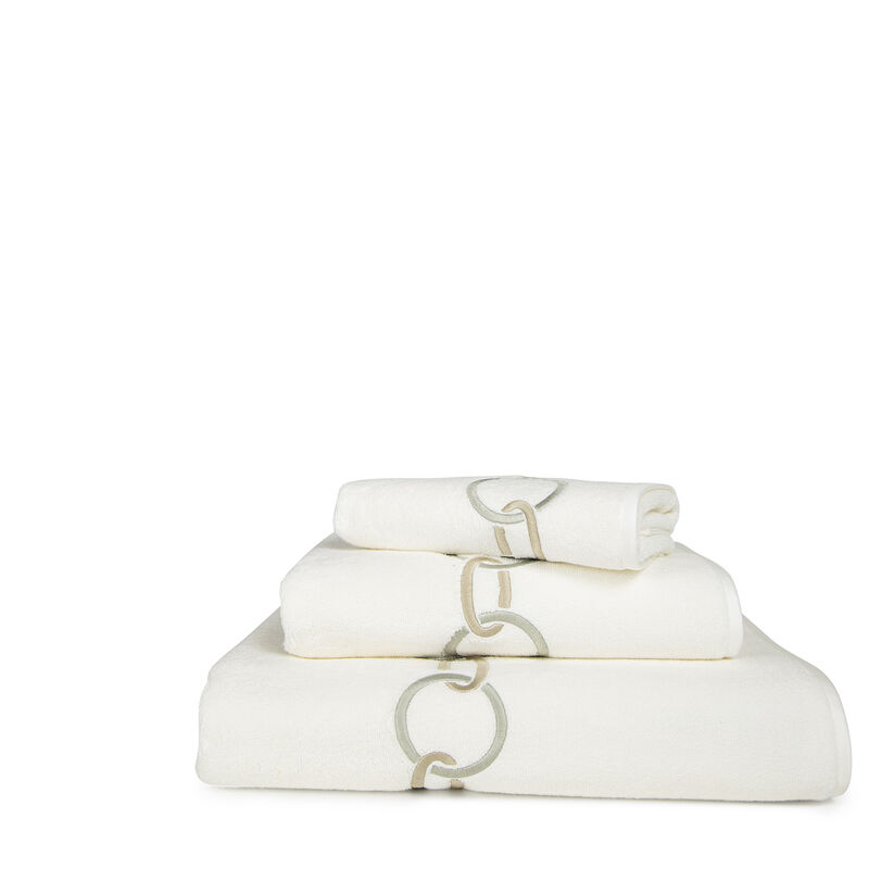 Links Embroidered Hand Towel