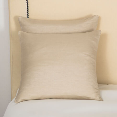 Luxury Passepartout Decorative Pillow - Beige - One Size