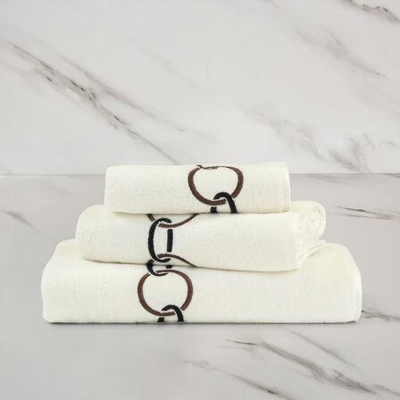 Links Ricamo Asciugamano