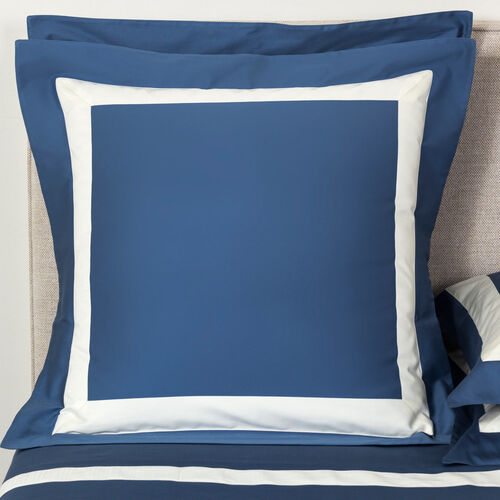 New Horizon Euro Sham Brit Blue Ivory