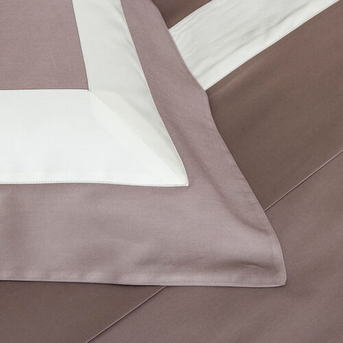 New Horizon Duvet Cover Set Tortora Avorio