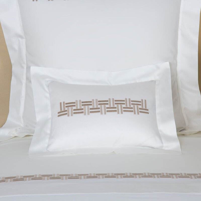 Basket Weave Embroidered Boudoir