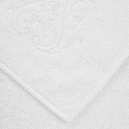 Ornate Medallion Ricamo Asciugamano