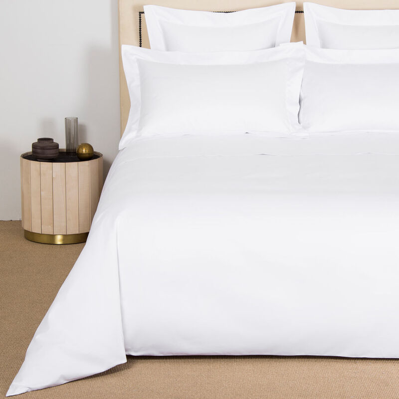 Net Duvet Cover Set - Milk - King