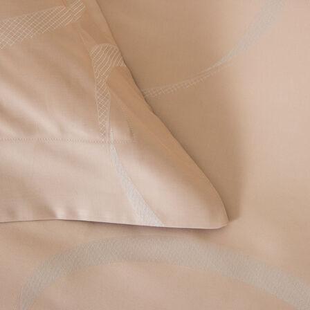 Ribbons Quadratischer Kissenbezug