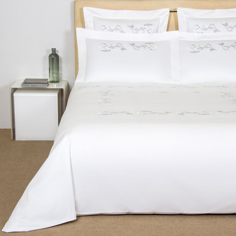 Tracery Embroidered Duvet Cover Set