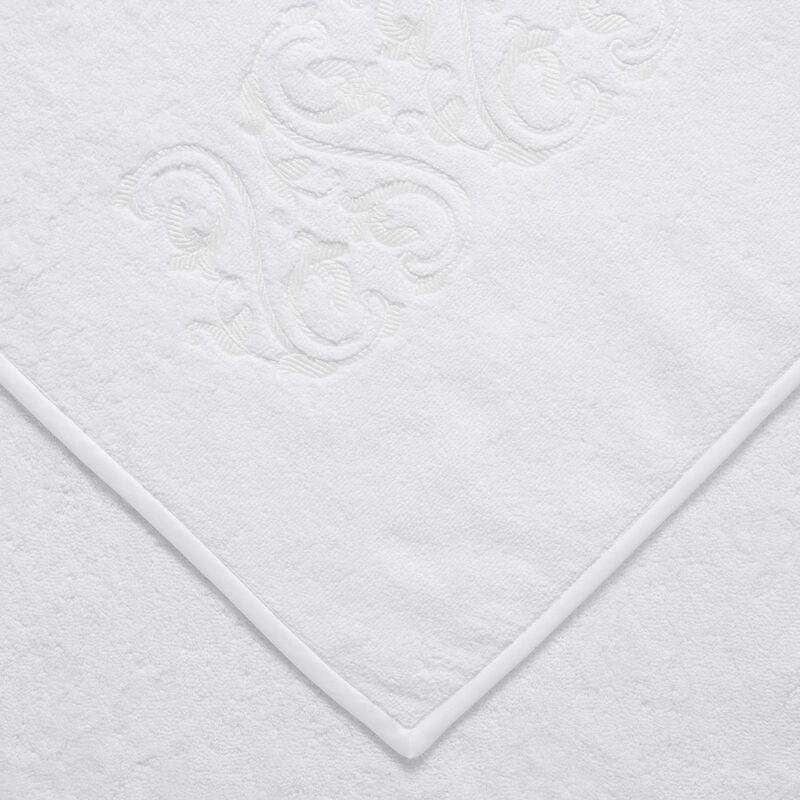 Ornate Medallion Embroidered Bath Towel