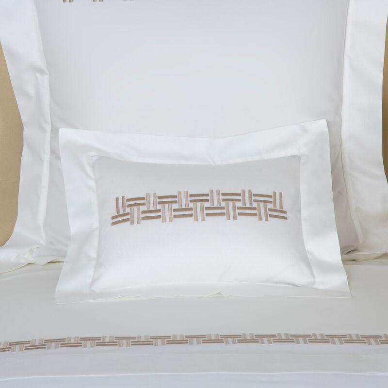 Basket Weave Embroidered Boudoir