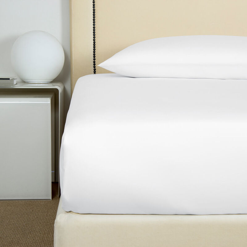 Cotton Sateen Fitted Bottom Sheet