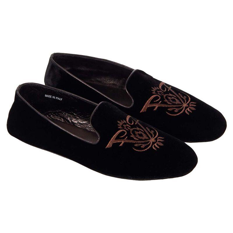 Arturo Velvet Slippers