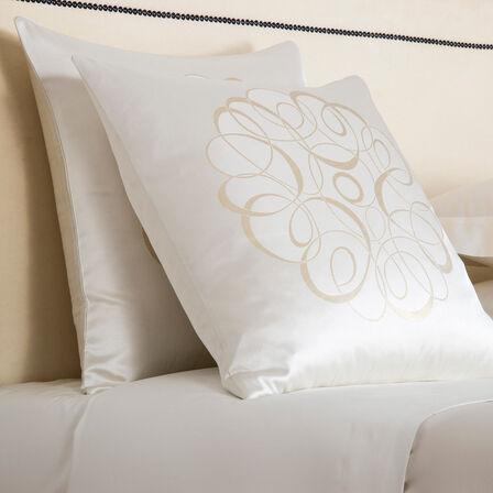 Luxury Sparkling Swirl Cuscino Decorativo