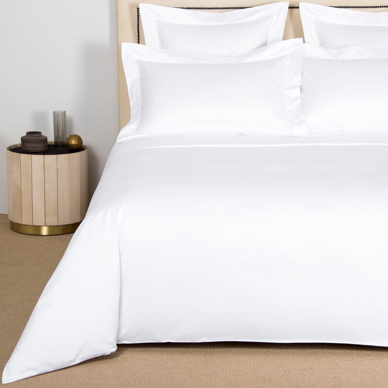Across Duvet Cover - Milk - Super King