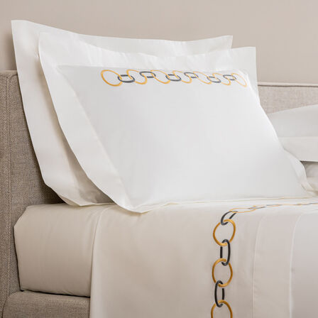 Links Embroidered Sham