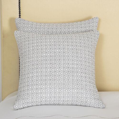 Luxury Luminescent Tweeds Coussin Décoratif