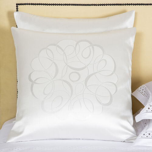 Luxury Sparkling Swirl Decorative Pillow