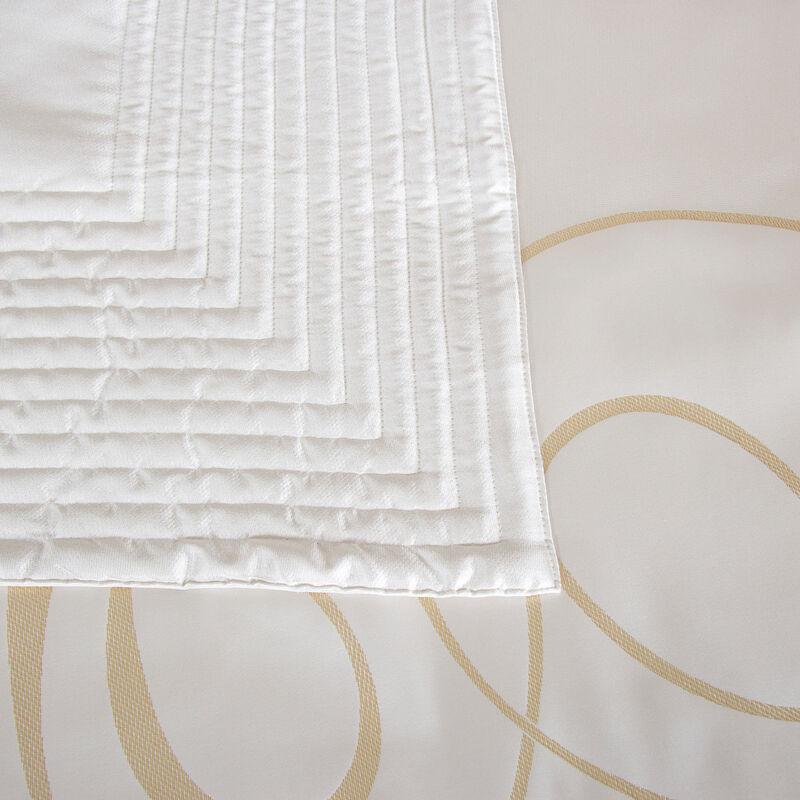 Luxury Sparkling Swirl Light Quilt