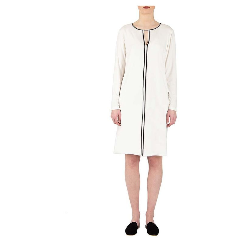 Silhouette Long Sleeve Nightgown